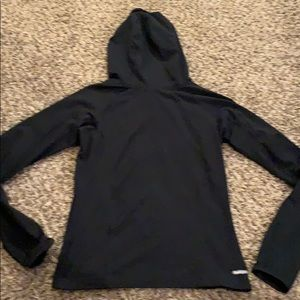 The North Face Tops - THE NORTH FACE black lightweight HOODIE XS